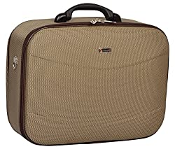 TREKKER Polyester 32.5 cms Brown Softsided Cabin Luggage (ICON-o-N18BR),TREKKER,ICON-o-N18BR