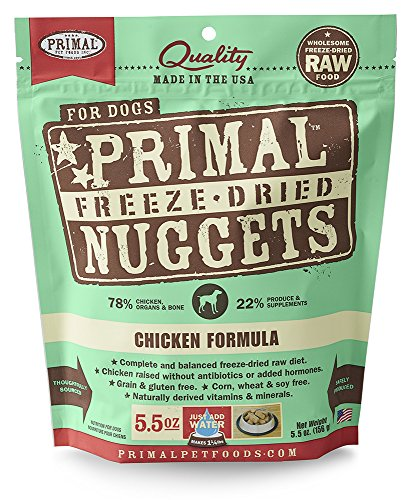 Primal Pet Foods Freeze-Dried Canine Chicken...