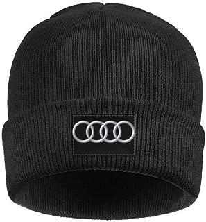 Men's Women's Winter Hat Audi-Logo- Style Warm Woolen Sport Skull Cap