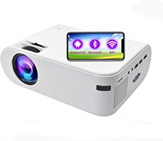SOTEFE® Android OS WiFi Proyector Portátil-Bluetooth Mini