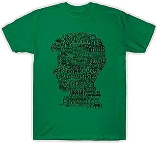 Men's Alex Turner Discography Graphic Design Funny Tshirt White