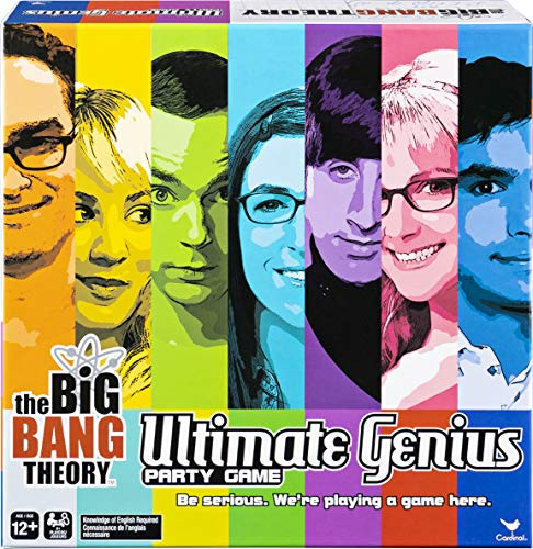 Spin Master Games Big Bang Theory TV Show Ultimate Genius Party Game for Teens, Adults, and Kids 12 and Up