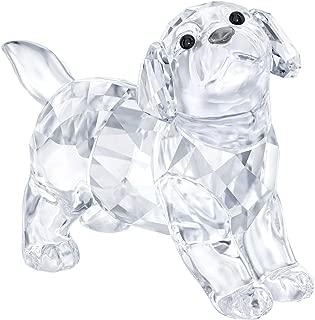 SWAROVSKI Labrador Puppy, Standing, Crystal, Transparent, 3.2 x 4 x 1.9 cm