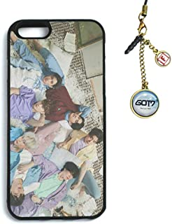Fanstown Kpop GOT7 iPhone 6/6s case Present: You + Dust Plug Charm (G01)