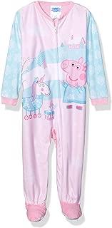 Peppa Pig Girls' Toddler Footed Blanket Sleeper