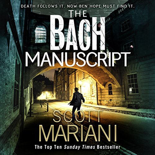 The Bach Manuscript audiobook cover art