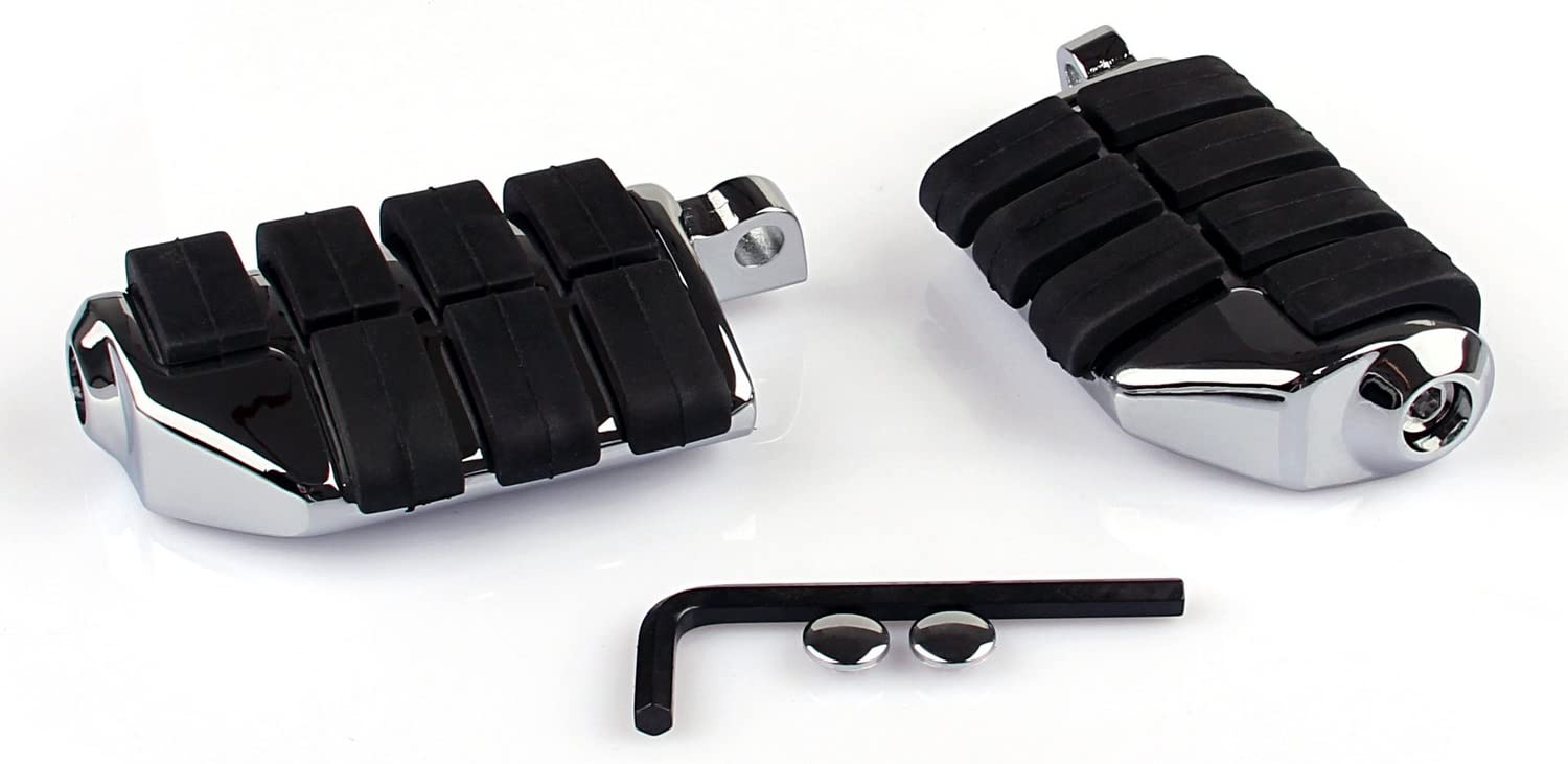 Topteng 7963 Repose-pieds pour Ha-rley Softail Sportster Dyna Glide Fat Boy Road King