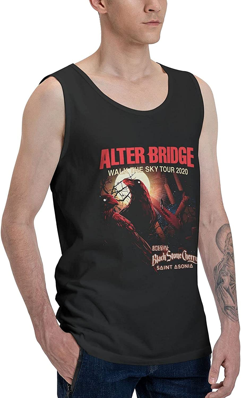 Alter Bridge Tank Top Man's Summer Sleeveless Shirts Cool Vest