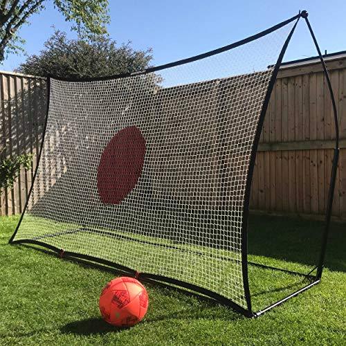 クイックプレイ スポットリバウンダー 2.1m×2.1m マルチスポーツ用 サッカー テニス 練習 壁打ちネット 7SR