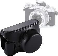 Camera Accessories Full Body Camera PU Leather Camera Case Bag with Strap for Panasonic Lumix GF7 / GF8 / GF9 (12-32mm / 14-42mm Lens) (Black) (Color : Black)