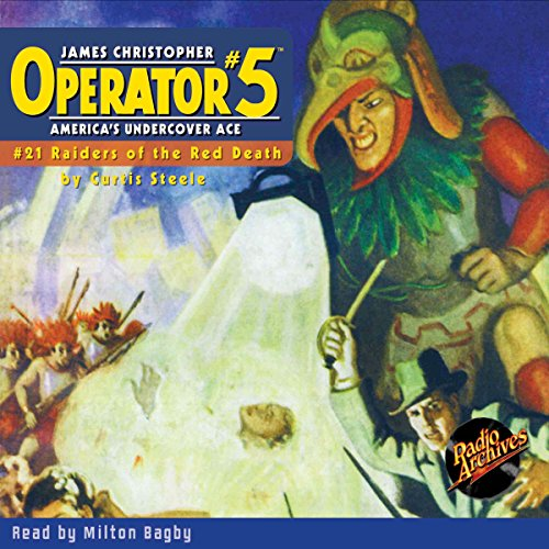 Operator #5 #21, December 1935 audiobook cover art