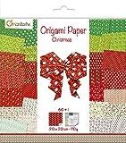 Avenue Mandarine Set Creativo con Papel de Origami, 60Hojas (30diseños x 2),...