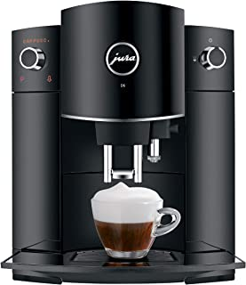 Jura 15215 D6 Automatic Coffee Machine Piano Black, 1