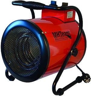 Mhteam-Eh4-03Calefactor eléctrico 3000W Termostato. Rojo.