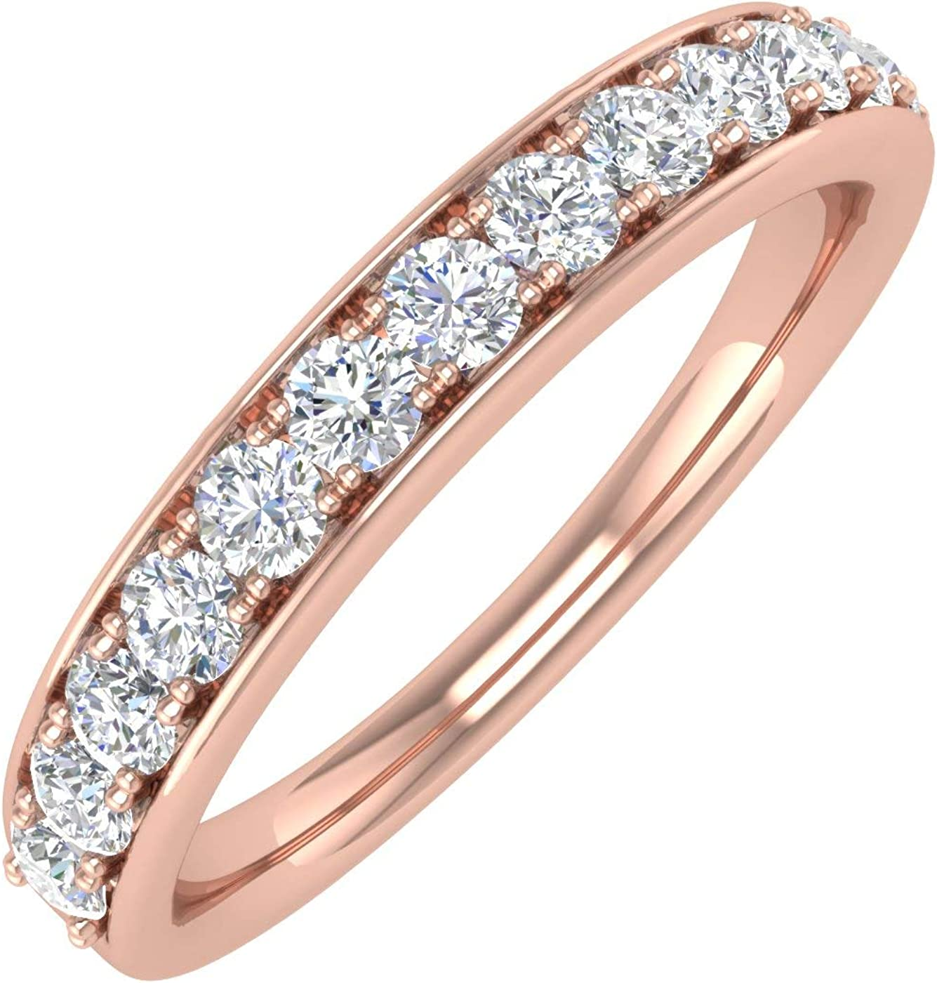 1 2 Carat Round Diamond Wedding Indianapolis Mall 14K in Gold Band Minneapolis Mall Ring