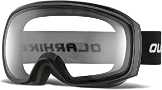 OlarHike Ski Snow Goggles for Men and Women, Anti-Fog Over Glasses Snowboard Goggles with UV Protection, Windproof Dual Lens Goggles for Skiing & Skating & Outdoor Sport, UV400