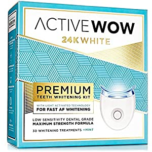 Active Wow Teeth Whitening Kit With Led Light