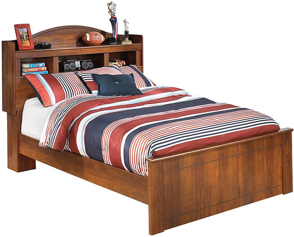 Ashley Furniture Signature Design - Barchan Full Footboard - Component Piece - Medium Brown
