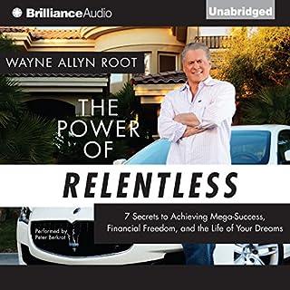 The Power of Relentless audiobook cover art