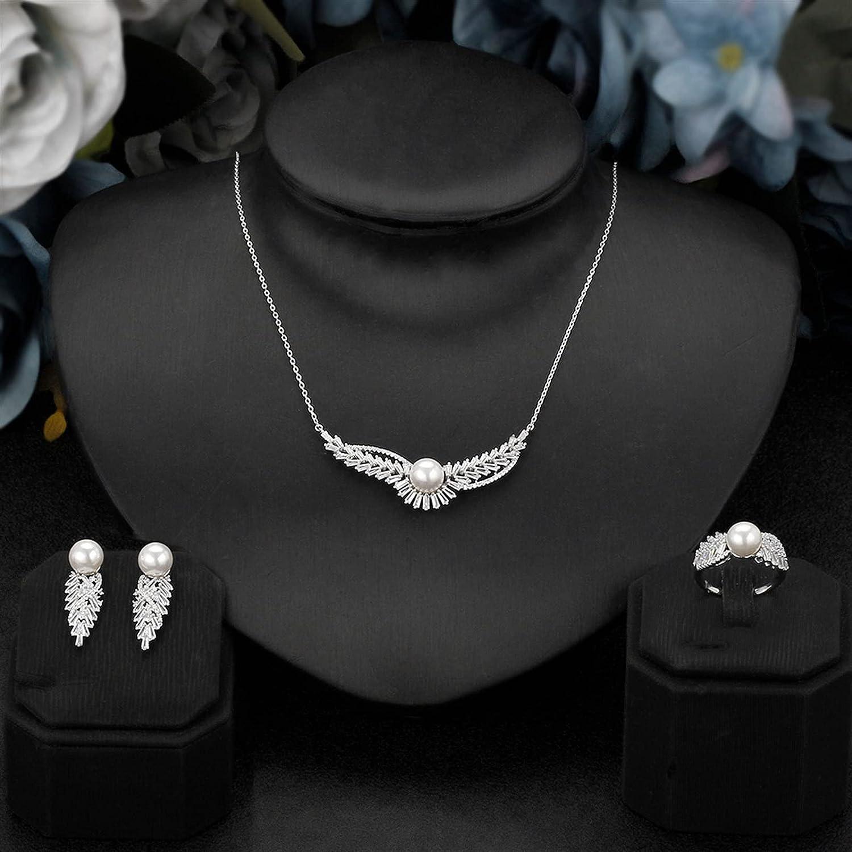 SYXMSM Jewellery Set Women Wedding Omaha Mall Jewelry Zirconia Cubic Dealing full price reduction Br