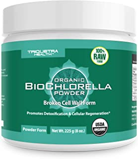 raw chlorella benefits