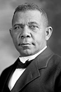 Booker Washington notebook - achieve your goals, perfect 120 lined pages #1