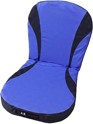 東京 西川 [エアー] エアー ポータブル クッション 40X80cm (背もたれつき Lサイズ) 凹凸構造 体圧分散 長時間座っていても疲れにくい ムレにくい エアー AiR ブルー HG90101663B