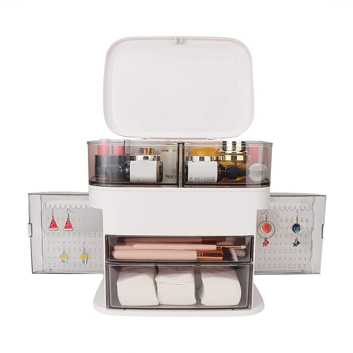 Jewelry Organizer Adjustable We OFFer at cheap prices Large It is very popular Capacity Storage Cosmetics B
