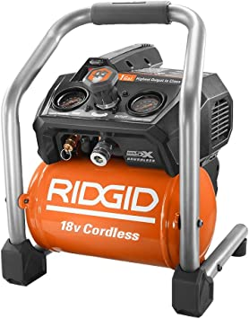 Ridgid R0230 1 Gal. 18-Volt Brushless Cordless Air Compressor (Tool Only): image