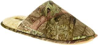 Mossy Oak Men Sherpa Lined Camo Scuff Slippers