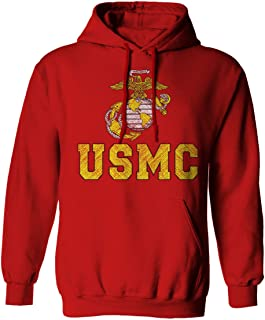 Marines Marine Corps USMC Logo Seal United States America USA American Hoodie