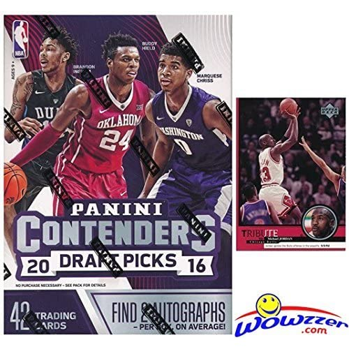 855a199632a 2016 2017 Panini Contenders Draft Picks Basketball Factory Sealed Retail  Box with TWO(2) AUTOGRAPHS. Ben Simmons   Brandon Ingram RC Year Product!  at ...