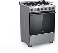 Midea 60 X 60 cm, 4 Burners Gas Cooker - Stainless Steel - BME62058-FFD, 1 Year Warranty