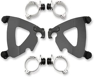 Memphis Shades 07-17 Harley FXDWG Trigger-Lock Mounting Kit (Black/Road Warrior Fairing)