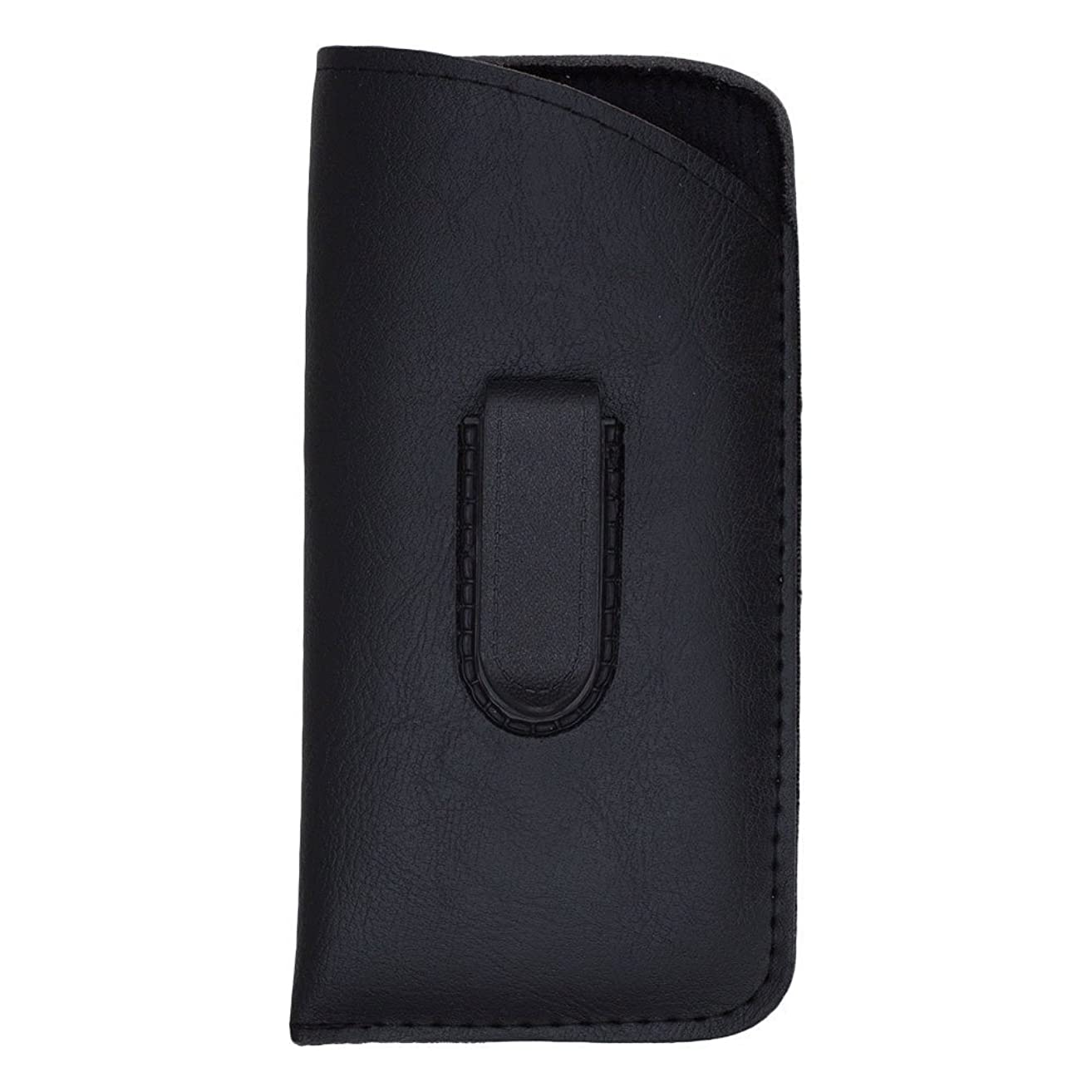Slip In Glasses Case Sleeve with Pocket Clip – Protects Eyewear from Damages