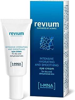 Revium Intensieve vochtinbrengende oogcrème met 1-MNA-molecul, hyaluronzuur-activator en NMF-regeneratiecomplex, 15 ml