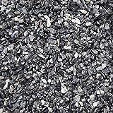 BTT-ST Steinteppich aus Marmorkies Grigio Carnico und Epoxidharz Bindemittel für 7,2m² Marmorstein Marmorkiesel Steinboden Bodenbeschichtung