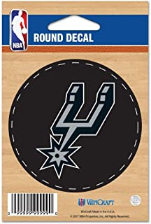 3 x 12 WinCraft NBA San Antonio Spurs WCR13324813 Bumper Strip