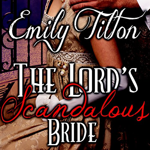 The Lord's Scandalous Bride audiobook cover art