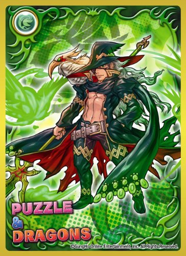 Chara Sleeve Collection - Puzzle & Dragons [Awakening Odin] (No.182)
