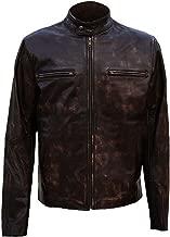 UGFashions Chicago PD Jason Beghe (Sergeant Hank Voight) Distressed Brown Biker Leather Jacket