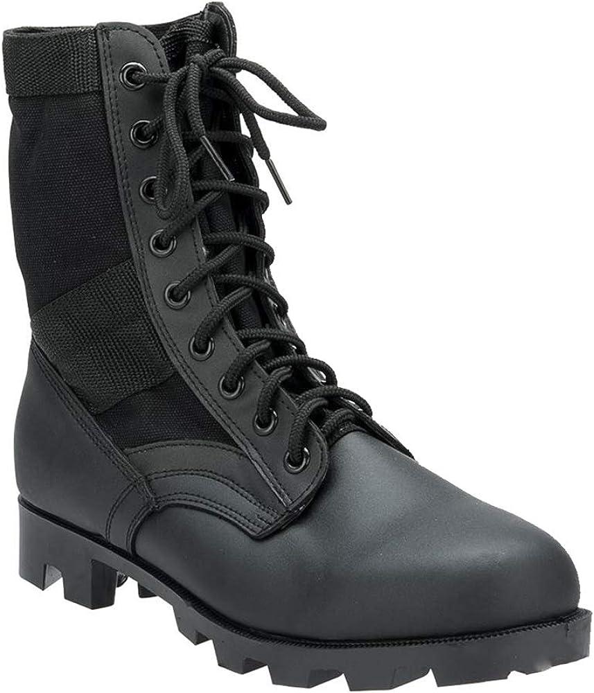 Rothco 8'' Gi Type Jungle Boot, Black, WDE/9
