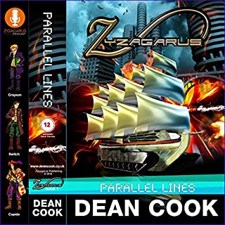 Parallel Lines: The Books of Zyzagarus audiobook cover art