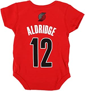 Outerstuff Lamarcus Aldridge NBA Portland Trail Blazers Newborn Infant Red Jersey Creeper