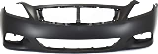 Front Bumper Cover for INFINITI G37 2008-2013/Q60 2014-2015 Primed Convertible/Coupe