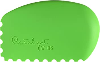 Princeton Artist Brush Catalyst Silicone Wedge Tool Green W-03