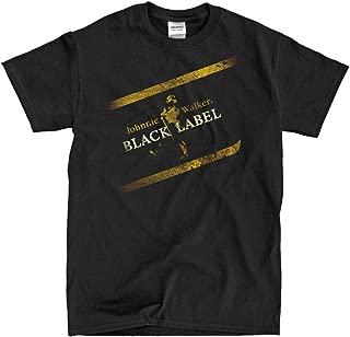 Johnnie Walker Black Label - Vintage Black T-Shirt