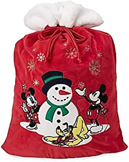Disney Mickey Mouse and Friends Plush Santa Sack – Large