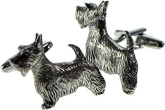 Select Gifts I Love My Dog Silver-Tone Cufflinks Afghan Shepherd