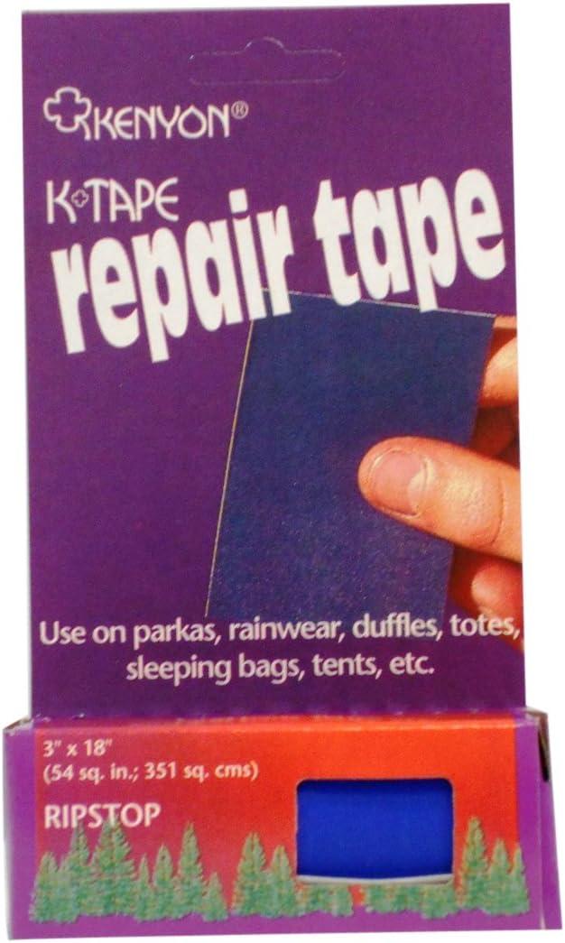 Kenyon Ripstop Pressure Sensitive Repair Tape, Navy: Sports & Outdoors